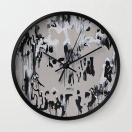 Winter's Growth Wall Clock