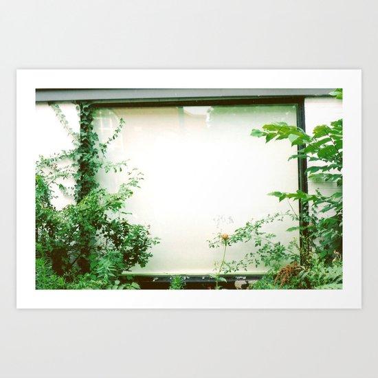 picture window Art Print