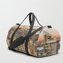 New York City Night Sky Duffle Bag