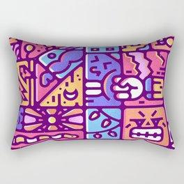 hidden number one Rectangular Pillow