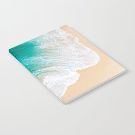 Sand Beach - Waves - Drone View Photography Notebook