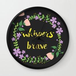 *whispers* BRAVE (dark) Wall Clock