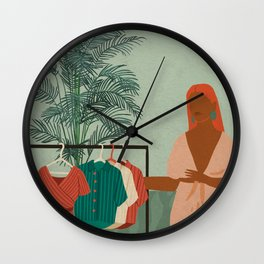 Retail Therapy No. 1 Wall Clock