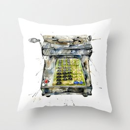 Vintage Cash Throw Pillow
