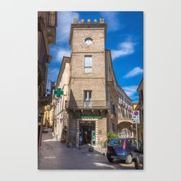 Pharmacy Tower Canvas Print