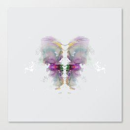 Inknograph III - Ink Blot Art Canvas Print
