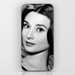 Audrey Close Up iPhone Skin