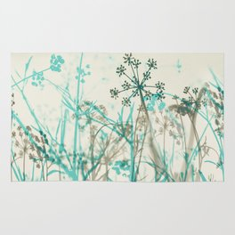 Abstract Botanical Rug