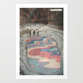 Reflecting Pool Art Print