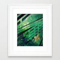 malachite Framed Art Prints featuring MALACHITE by Matt Schiermeier