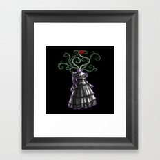 Gothic Dress Framed Art Print