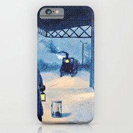 Paul Gustav Fischer - The Last Train - Digital Remastered Edition iPhone Case