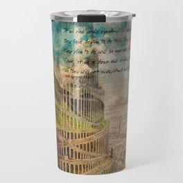 The Tower of Babel Travel Mug