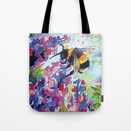 Drink up little bee Tote Bag