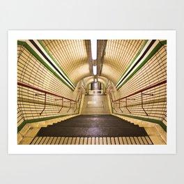 The Tube Art Print