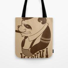 Panda Palooka Pitchin Woo Tote Bag