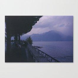 Enjoy the rain Canvas Print