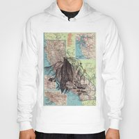 california Hoodies featuring California by Ursula Rodgers