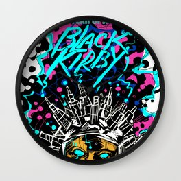 FEAR OF A BLACK KIRBY Wall Clock