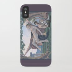 Dionysus and Satyr Slim Case iPhone X