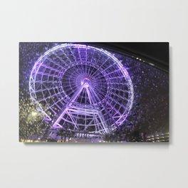 Colorful Eye Metal Print