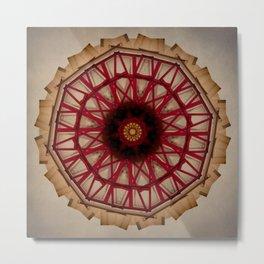 Mandala Apparition Metal Print
