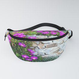 Wildflowers On The Wall Fanny Pack