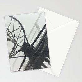 Basketball Hoop Stationery Cards