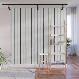 Blush tones abstract modern geometrical  pattern Wall Mural
