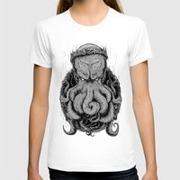 cthulu T-shirts featuring The Octopus KIng by StinkBrain