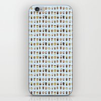 cafe iPhone & iPod Skins featuring Cafe  by Breakfast Box