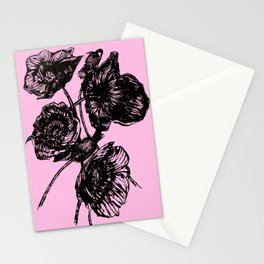 Poppies In Bloom Stationery Cards