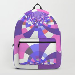 Unicorn Kaleidoscope Mandala Backpack