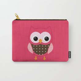 Pink owl Carry-All Pouch