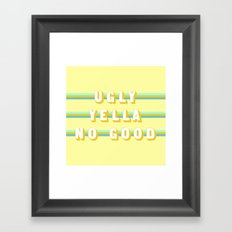 Home Alone (Rule of Threes) Framed Art Print