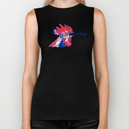 France Les Blues (The Blues) ~Group C~ Biker Tank