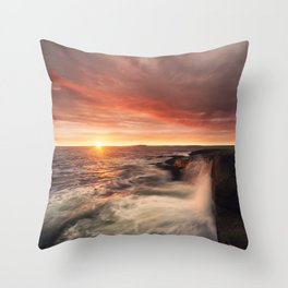 Sliver of Sunlight Throw Pillow