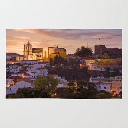Portugal, Silves, town and castle Rug