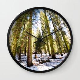 Trees Wall Clock