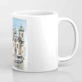 Church of St. Francis of Assisi, Ouro Preto, Brazil. Coffee Mug