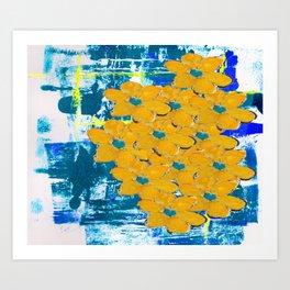 WATERWAYS FLORAL Art Print