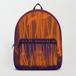 Purple Light Backpack
