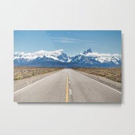 El Chaltén - Patagonia Argentina Metal Print