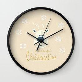 Christmas motif No. 4 Wall Clock