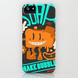 Soap make bubbles iPhone Case