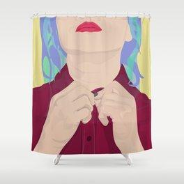 Job Interview Shower Curtain