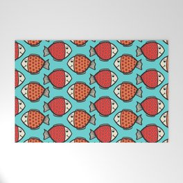 Colorful Fish Welcome Mat