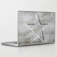 solid Laptop & iPad Skins featuring Solid Star by LebensART