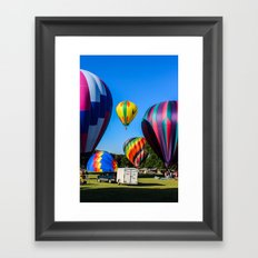 The Eagle Has Lifted Framed Art Print