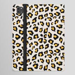 Leopard Print - Mustard Yellow iPad Folio Case